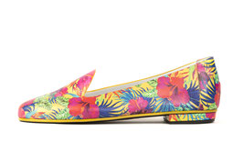 Slipper Kimia tropical print