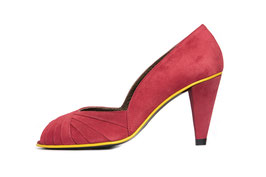 Escarpin Curu rouge