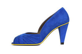 Escarpin Curu bleuette