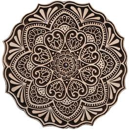 Block Print Stamp Mandala M 180