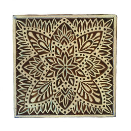 Block Print Stamp Motif  No. 30
