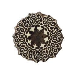Block Print Stamp Mandala Motif  M 129