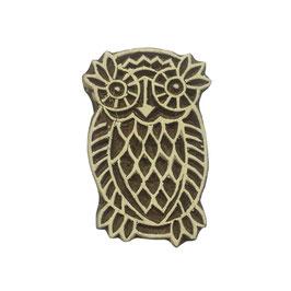 Block Print Stamp Owl  M 140