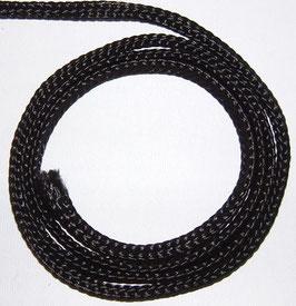 Polyesterschnur geflochten d-3mm schwarz