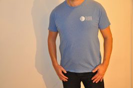 T-Shirt deluxe mid heather blue