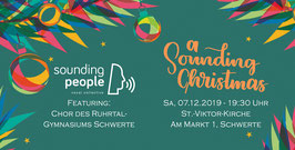 "Ticket - ""A Sounding Christmas"" - 07.12.2019"