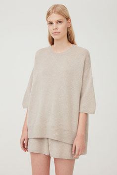 Camille/201212TA  100% Cashmere  TAUPE