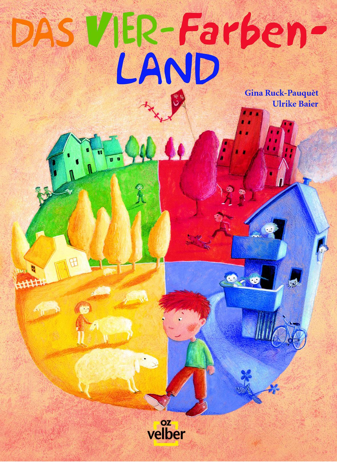 """Aufführungspaket komplett """"Das Vier-Farben-Land"""" alles inklusive!"""