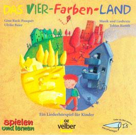 """CD """"Das Vier-Farben-Land"""" Instrumentalversion"""
