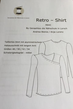 Retro Shirt Maxi / Papierschnitt