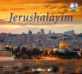 JERUSHALAYIM   Instrumental-CD Piano + Celesta