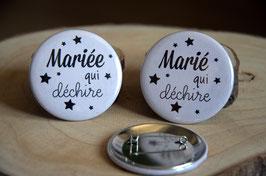 """""""Les petits prix"""" : Lot de 2 badges : 56 mm (LOT n°21)"""