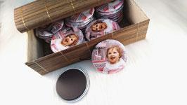 30 magnets personnalisés (diamètre 56 mm)