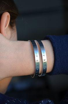 Bracelet à personnaliser (métaux)