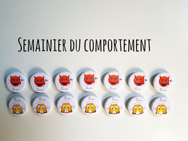 Semainier du comportement