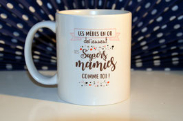 """Mug à personnaliser """"les mères en or ..."""""""
