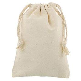 Pochon en coton - Taille L : 40 x 61,5 cm