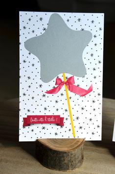 """Carte à gratter """"Invitation d'anniversaire"""""""