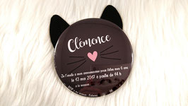 Invitations d'anniversaire CHAT