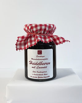 150 Gramm Glas Heidelbeer Lavendel Fruchtaufstrich