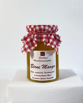 150 Gramm Glas Birne Mango Fruchtaufstrich