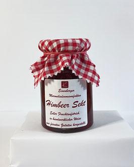150 Gramm Glas Himbeer Sekt Fruchtaufstrich
