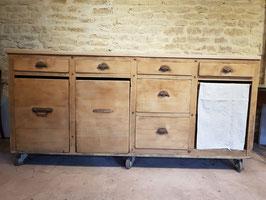 Ancien farinier de boulangerie meuble de métier