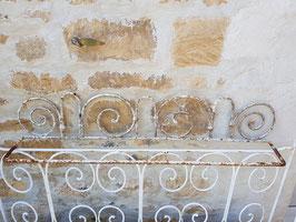 Ancien porte jardinière en fonte