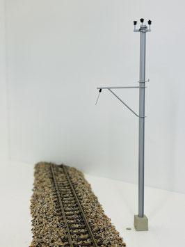 Art&Web / RhB Bernina Bahn, Windschiefe ohne Fahrdraht