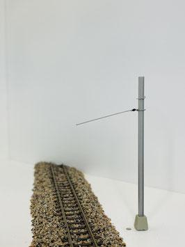 Art&Web / RhB Bernina Bahn, Windschiefe innen ziehend