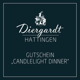 """Gutschein """"Candlelight Dinner"""""""