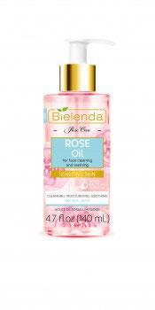 BIELENDA ROSE CARE Розовое масло для умывания 140мл