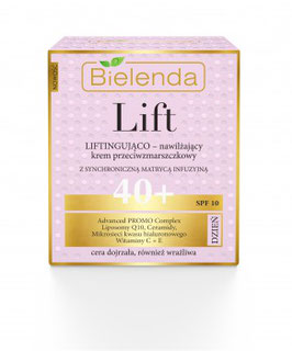 BIELENDA LIFT Увлажняющий и лифтингующий крем против морщин 40+ дневной 50мл
