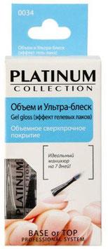 Объем и ультра-блеск Gel gloss (эффект гель-лака) «PLATINUM Collection» 0034