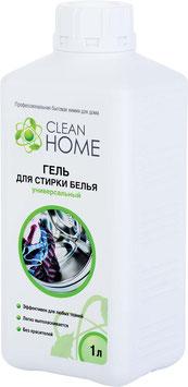 CLEAN HOME Гель для стирки белья универсальный  1л.
