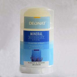 """Минеральный дезодорант """"Кристалл-ДеоНат"""" экстракт планктона, стик плоский вывинчивающийся, 100гр."""