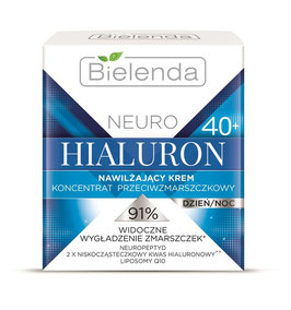 BIELENDA NEURO HIALURON Увлажняющий крем 40+ дневной/ночной 50мл