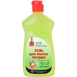 """Fedora Гель для мытья посуды """"Яблоко""""  500 мл"""