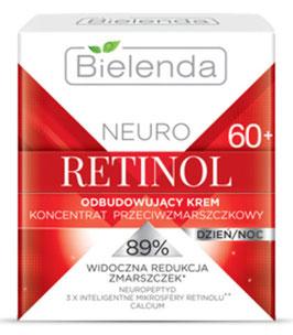 BIELENDA NEURO RETINOL Восстанавливающий крем-концентрат против морщин 60+ полужирный д/н 50мл
