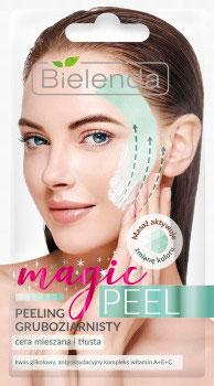 BIELENDA MAGIC PEEL Крупнозернистый пилинг для кожи смешанного типа и жирной кожи 8г