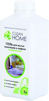 CLEAN HOME Гель для мытья линолеума и кафеля универсальный 1л.