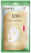"""Shary  Маска для лица на тканевой основе """"100% Морские водоросли""""  20 г"""