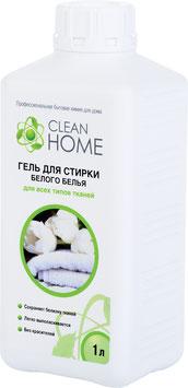 CLEAN HOME Гель для стирки БЕЛОГО белья 1л.