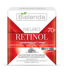 BIELENDA NEURO RETINOL Восстанавливающий крем-концентрат против морщин 70+ полужирный д/н 50мл