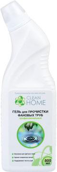 CLEAN HOME Гель для прочистки фановых труб 800мл.