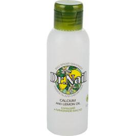 Жидкость для снятия лака 100мл (кальций + лимонное масло) пластик