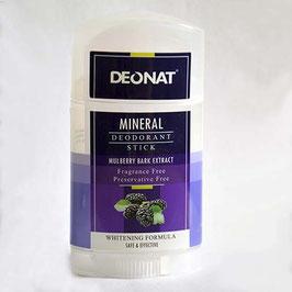 """Натуральный дезодорант """"Кристалл-ДеоНат"""" экстракт тутовника, огурца, гибискуса,  вывинчивающийся  100гр."""