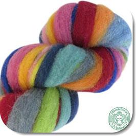 Filzwollstrang gefärbt
