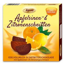 Apfelsinen - Zitronenschnitten