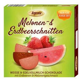 Melone - Erdbeerschnitten
